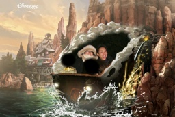 Big Thunder Mountain - Disneyland Paris (24/12/2016)