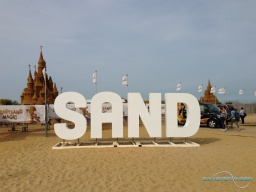 Disney Sand Magic sur la plage d'Ostende (25/08/2017)